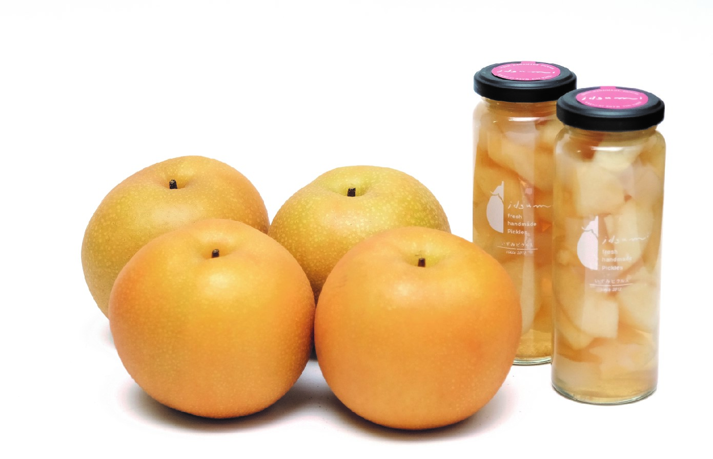 099H509 梨と梨のコンポートセット(梨4個、梨のコンポート2個)