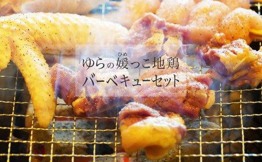 ゆらの媛っこ地鶏BBQセット(約1.5kg)