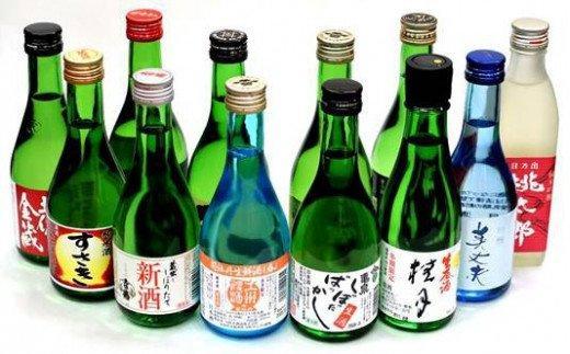 季節の土佐酒飲み比べ300ml 12本セット TH036