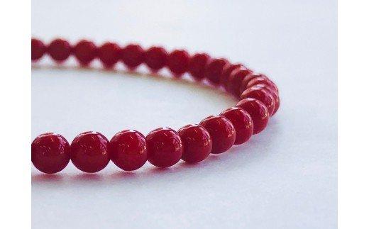 赤サンゴブレスレット・女性用 TP057