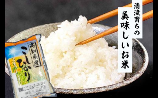 高知県産 コシヒカリ 3kg NPO011