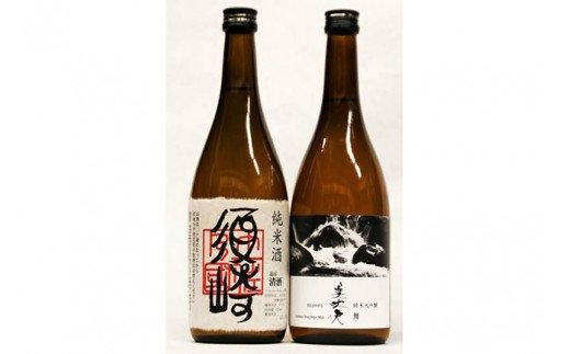 純米大吟醸美丈夫「舞」・純米「須崎」720ml 2本セット TH055