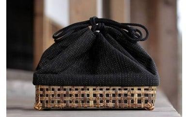 虎竹巾着籠 TT019