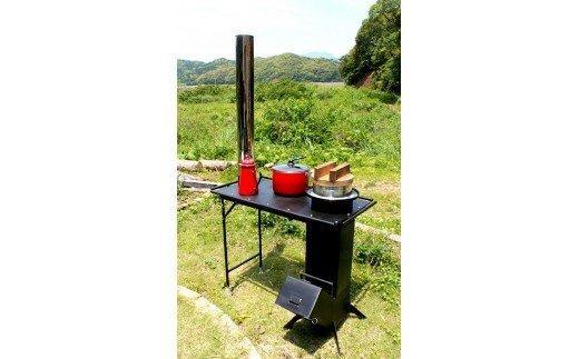テーブル型調理用コンロストーブ「スマートロケット」 ON008