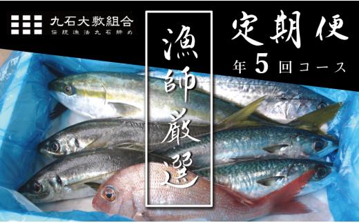 【ふるさと納税】現役漁師厳選!旬のお魚定期便《年5回コース》KO1000