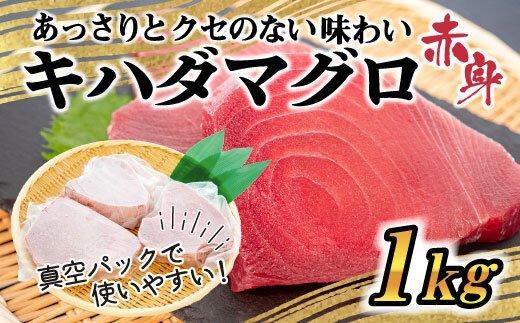 【訳あり】大満足のもちもちキハダマグロ赤身1kg!! TY017